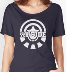 Civil War - Choose Your Side Women's Relaxed Fit T-Shirt