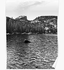 Flattop Mountain and Bear Lake Poster