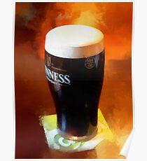 Pint of Guinness Poster