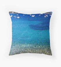 Villefranche sur mer Throw Pillow