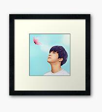 Flutter, flutter Framed Print