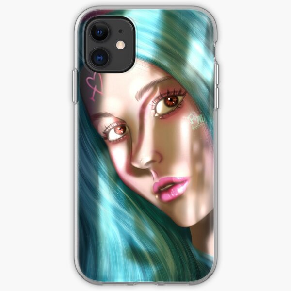 Turquoise iPhone Soft Case