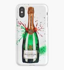 Bollinger Champagne Bottle iPhone Case