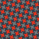 """TownsTooth Pattern """"Game Day"""" by Mautner Design by mautnerdesign"""