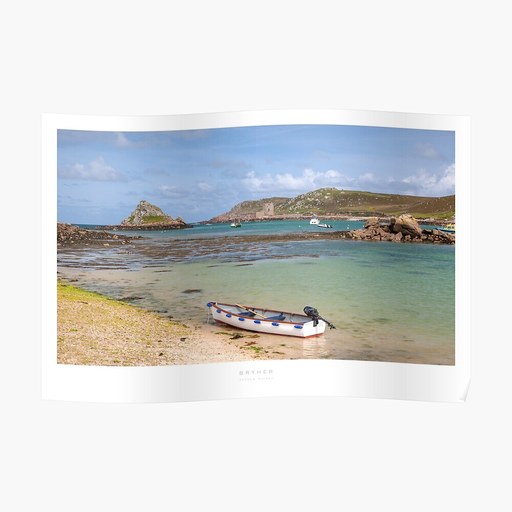 Bryher, Isles of Scilly Poster