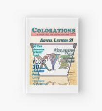 Cuaderno de tapa dura Colorations Magazine - Artful Letters 2