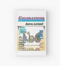 Cuaderno de tapa dura Colorations Magazine - Artful Letters