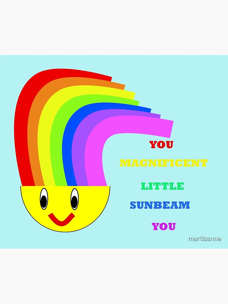 You Magnificent Little Sunbeam You  by martisanne