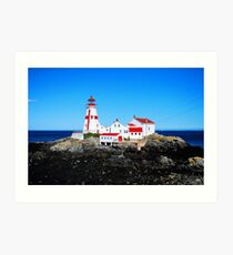 """ oldest lighthouse in Canada "" Art Print"