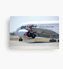 Qantas A380 Metal Print