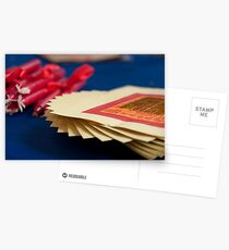 Paper Money and Candles Postcards