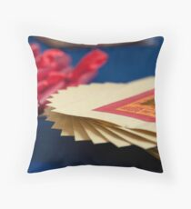 Paper Money and Candles Throw Pillow