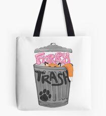 Furry Trash (Fursuit & Sparkle Edition) Tote Bag