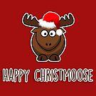 Happy Christmoose by fashprints