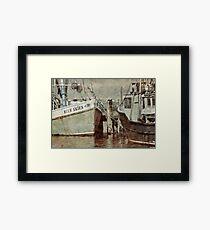 Provincetown Harbor... Framed Print