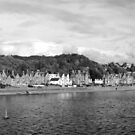 Approaching Oban by Graham Sessions