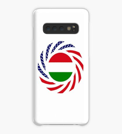 Hungarian American Multinational Patriot Flag Series Case/Skin for Samsung Galaxy