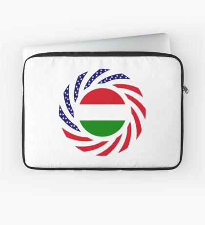 Hungarian American Multinational Patriot Flag Series Laptop Sleeve