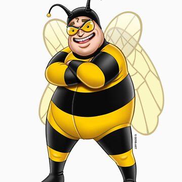 Superheroes - Bee-Boy by GerbArt
