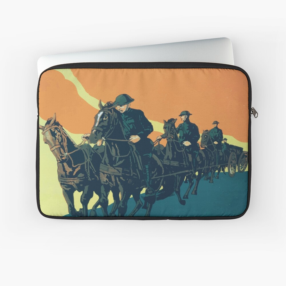 Adventure and action Enlist in the field artillery US Army Laptoptasche
