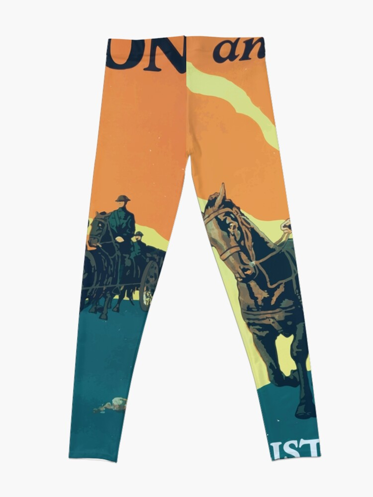 Alternative Ansicht von Adventure and action Enlist in the field artillery US Army Leggings
