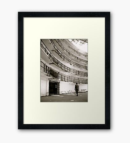 Free to Leave Framed Print