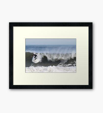 Saltwick Surfer Framed Print