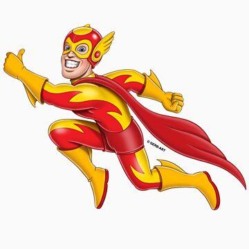 Superheroes - Flames by GerbArt