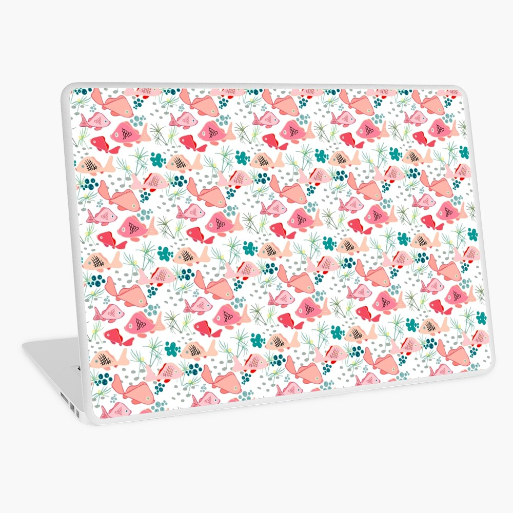 Origami Koi Fish Laptop Skin