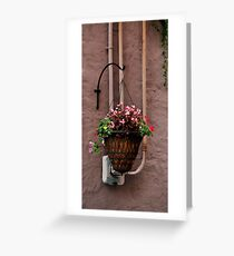 Basket Greeting Card