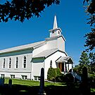 Salem United Church, Summerstown. 1900. by Mike Oxley