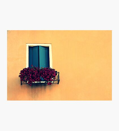 crack the shutters Photographic Print
