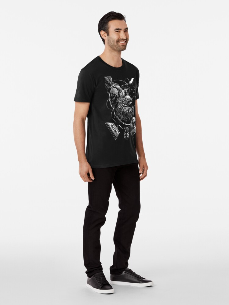 T-shirt premium ''Cryptobiosis': autre vue
