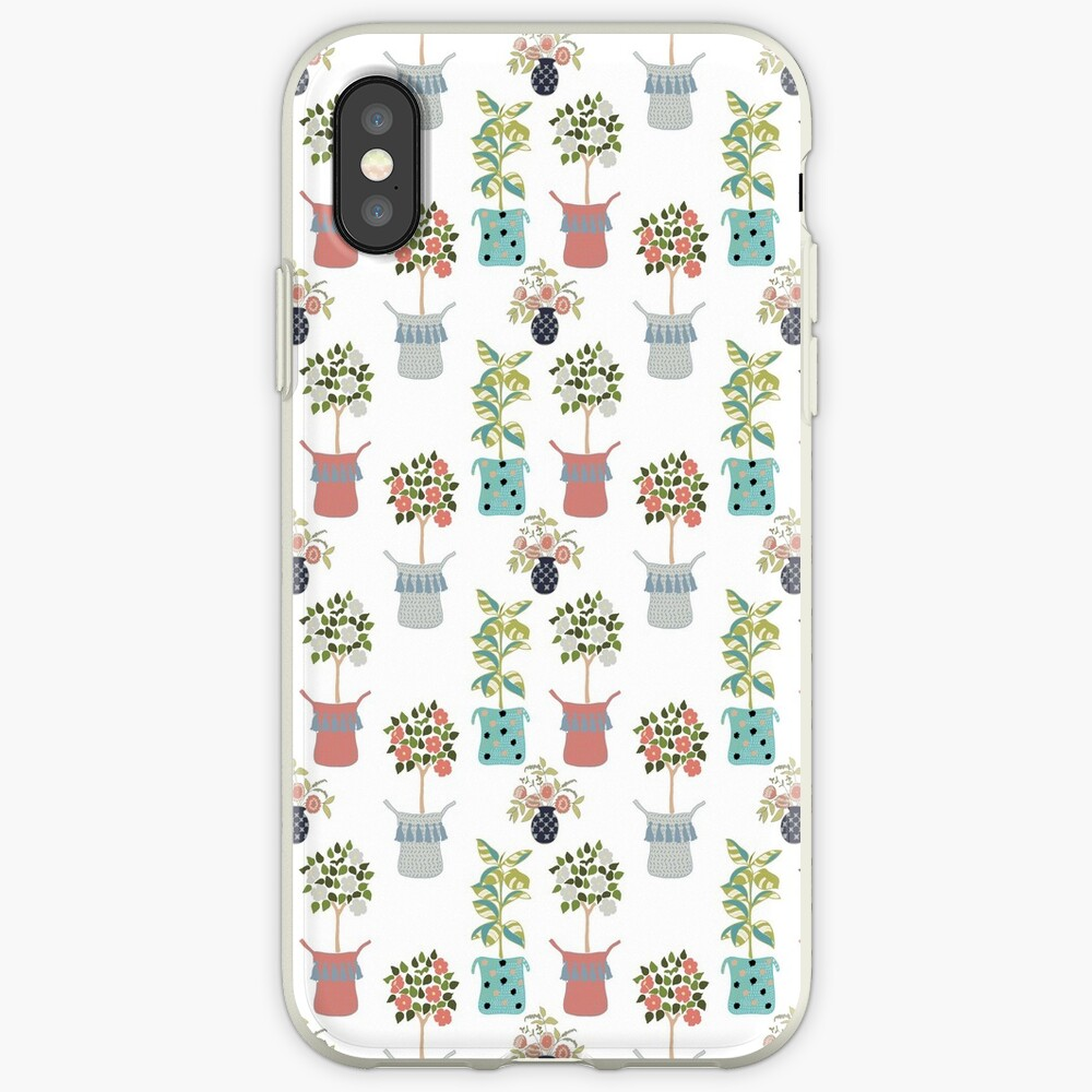 Boho Indoor Plants iPhone Case & Cover