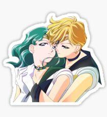 Uranus and Neptune Sticker