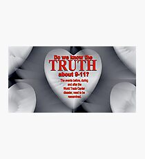 THE TRUTH Photographic Print