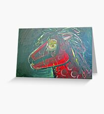 Pony- my little pony Greeting Card
