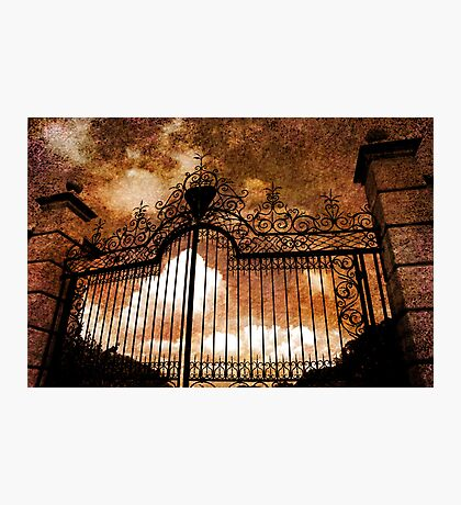 Who is knocking on heavens door Photographic Print