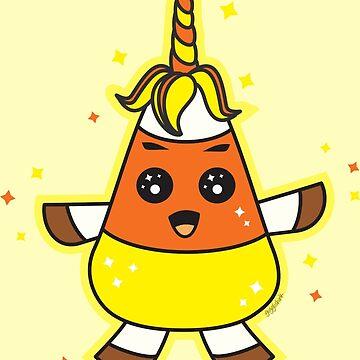 Candy Corn Unicorn by gigglish