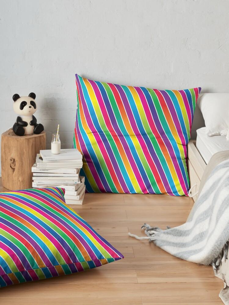 Alternate view of Stripes Floor Pillow
