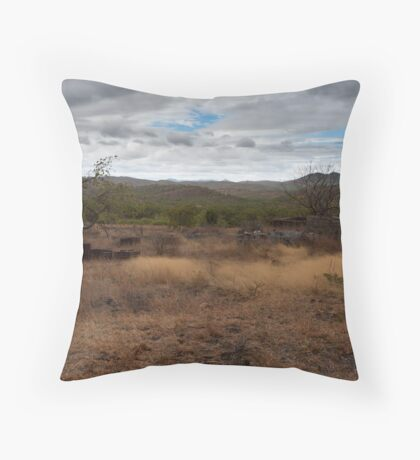 Savanah from Mt. Mulligan Throw Pillow