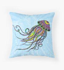 Electric Jellyfish Floor Pillow