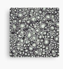 Microscopic Abstract Shapes Canvas Print