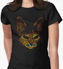 Bad kitty kitty Women's Fitted T-Shirt