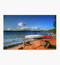 Blue Lake, Ontario, Canada Photographic Print