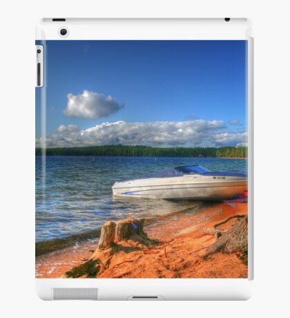 Blue Lake, Ontario, Canada iPad Case/Skin