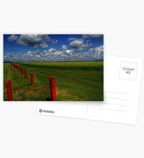 Prairie Splendour Postcards