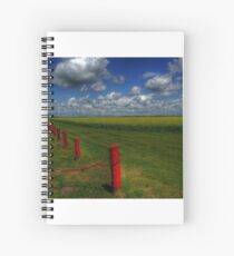 Prairie Splendour Spiral Notebook