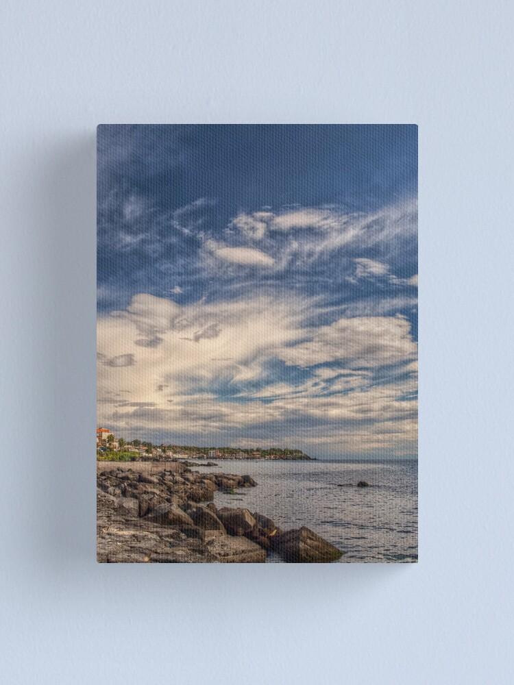 Alternate view of Giochi di nuvole Canvas Print