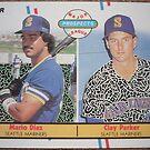 487 - Mario Diaz | Clay Parker by Foob's Baseball Cards